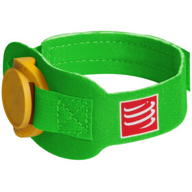 Compressport Timing Chipband zielony